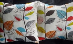 red, green and gray pillows - Google Search
