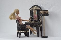 Barbie Dollhouse Furniture Bedroom Set Fashion Royalty Monster High 1:6