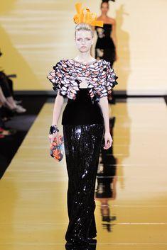 Armani Privé Fall 2011 Couture Fashion Show - Magdalena Langrova (NEXT)