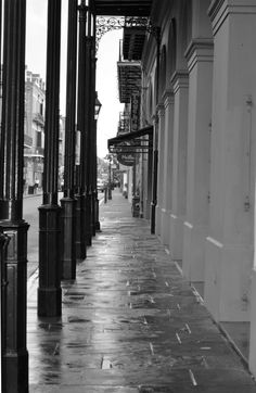 Surprise! Black and White New Orleans Street scene. visit suzannetuzzeo.com 8x10 $65 shipping $7
