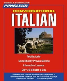 Italian, Conversational: Learn to Speak and Understand Italian with Pimsleur Language Programs (Pimsleur Instant Conversation): Pimsleur: 9780743550437: Amazon.com: Books
