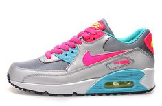 Women NIKE Air Max 90 Sports Shoes A  PinkyColor|only US$89.00 - follow me to pick up couopons.