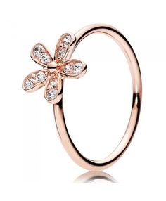 Pandora Cubic Rose Zirconia Rings Cheap Sale
