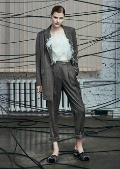 A La Russe Anastasia Romantsova, Осень-зима 2017/2018, Ready-To-Wear, НЕДЕЛЯ МОДЫ: Москва