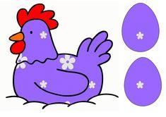 Thema Pasen, Thema Kippen (Juf Emmily)