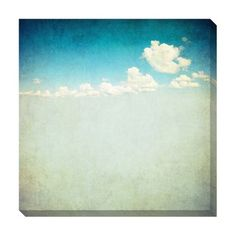 Vintage Clouds II Oversized Gallery Wrapped Canvas | Overstock™ Shopping - Top Rated Canvas