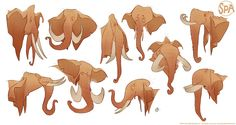 The SPA Studios. Sergio Pablos' Character Speed Drawing. Elephant Studies.