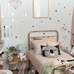 Bedroom inspiration up close .  #ladedahkids #kidsdecor #texture #layers #kidsdesign #kidsdecor