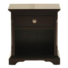 French Quarters II One Drawer Nightstand at HOM Furniture