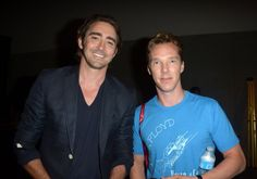 Comic-Con 2014 Photos:Lee Pace and Benedict Cumberbatch.