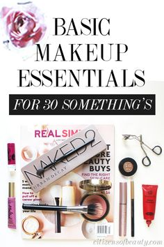 Basic Makeup Essentials in Your Thirties