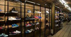 Чудесный магазин обуви для подростков Foot Patrol в Лондоне