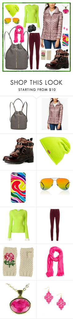 """sightseeing"" by moestesoh ❤ liked on Polyvore featuring Elizabeth and James, Bernardo, Hunter, Dylan's Candy Bar, Yves Saint Laurent, Esteban Cortazar, rag & bone, Gemjunky and Nikon"