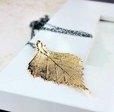 smykke blad i gull - Google Search