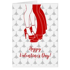 Couple kissing Valentine's Day Card - valentines day gifts gift idea diy customize special couple love