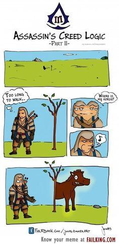 Assassin's Creed III Logic