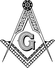 masonic clip art and freemason symbols square and compasses page rh pinterest com masonic clip art free images masonic clipart images