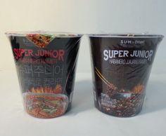 Super Junior Habanero Instant Cup Ramen (Spicy65g +Jjajang 65g) 1,2,3 Set #smXemart