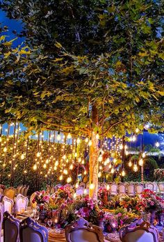 39 Wedding Light Ideas That Glow Magnificent ❤ wedding light ideas wedding light on tree safadiehweddingplanner #weddingforward #wedding #bride