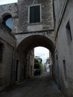 Vicoli del centro storico.