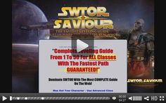 Ready To Play SWTOR SAVIOUR Like A Pro?