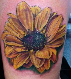 My new sunflower tattoo
