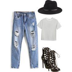 Street Style #6 by fashionchameleont on Polyvore featuring polyvore, fashion, style, Chicnova Fashion and rag & bone