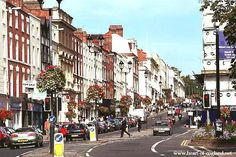 where we lived in england  royal leamington spa  (the parade)
