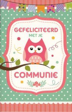 gefeliciteerd met je communie 23 best Communiekaarten images on Pinterest gefeliciteerd met je communie
