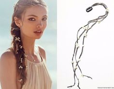 hair decorations for braids - Google Search