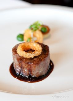 The French Laundry -- Restaurant Charcoal-Grilled Japanese Wagyu