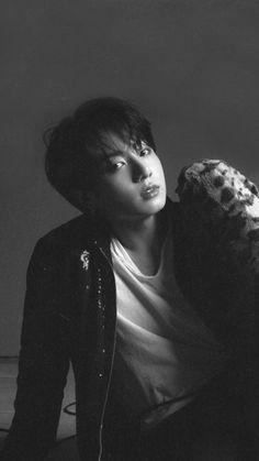 """I'll keep you warm little fox."" Jungkook is a rabbit hybrid who is a bit spoiled by his owners, Namjoon and Seokjin. Seokjin, Namjoon, Yoongi, Bts Jungkook, V Taehyung, Foto Bts, Bts Photo, K Pop, Jung Hoseok"