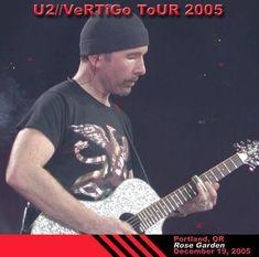U2 -Vertigo Tour - 19/12/2005 -Portland, OR USA - Rose Garden