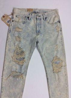 Ralph-Lauren-Denim-Supply-Women-Bleached-Rip-Distressed-Boyfriend-Jeans-Pants-26