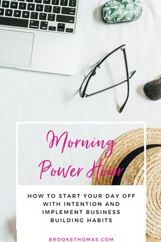 Learn how to start your day off with intention and implement business-building habits that will set you up for success. Adding one hour to your morning will help you feel ready for your day and will help you excel in your life, business, and faith! This routine is completely customizable to you! #morningroutine #morningpowerhour #highperformencehabits
