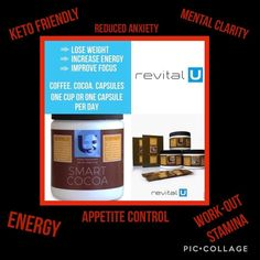 Request Info Angela's revital U Free Coffee Samples, Free Samples, Appetite Control, How To Increase Energy, Closer, Cocoa, You Got This, Lose Weight, Thing 1