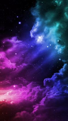 New wallpaper galaxy love cosmos Ideas Cute Galaxy Wallpaper, Planets Wallpaper, Wallpaper Space, Scenery Wallpaper, Cute Wallpaper Backgrounds, Pretty Wallpapers, Aesthetic Iphone Wallpaper, Cool Wallpaper, Galaxy Painting