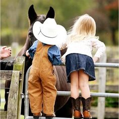 If I had a do over, this is how I would have brought my babies up - the country life way! Better late than never, it's what i'll give my grandbabies!