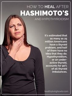 How To Heal After Hashimoto's And Hypothyroidism | healthylivinghowto.com