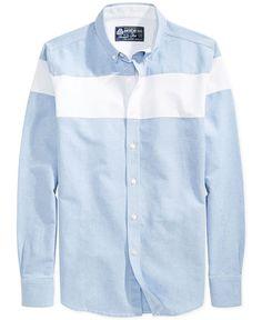 American Rag Colorblocked Oxford Shirt