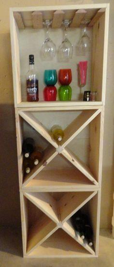 Beautiful Wine Rack Cabinet Diy