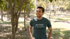 Add some coolness to your wardrobe with this cool Be kind to one another design or give it as the perfect gift!  . . Choose your size and color below then BUY IT NOW to place your order. Men's Shirts And Tops, Women's Shirts, Camper, I Love My Girlfriend, Pug Shirt, Amazon Rainforest, Crew Shirt, Coton Bio, Branded T Shirts