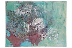 Abstract in Aqua on OneKingsLane.com