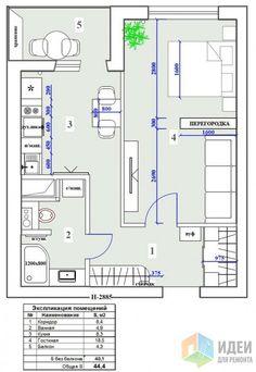"""Фотографии [82650]: ЖК """"Современник"""", 1-комнатная квартира от дизайнера Екатерина Ненашева"""