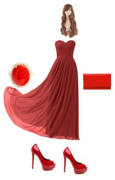 """Reds"" by oliviaw09-1 on Polyvore featuring Remedios"