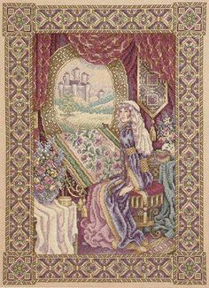 teresa wentzler cross stitch designs | Teresa Wentzler - Lady of Shalott