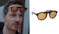Cook (Michael Fassbender) Sunglasses in Song to Song