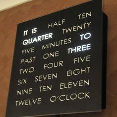 Numberless Clock LOVE this clock! www.elmandcedar.com
