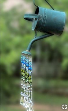 Watering Can Decor