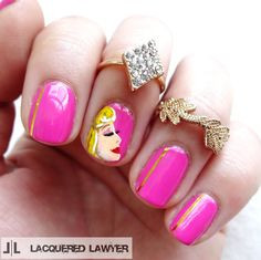 Lacquered Lawyer | Nail Art Blog: True Love's Kiss